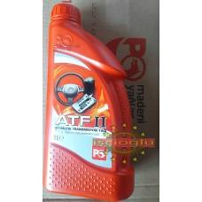 PETROL OFİSİ  ATF II  Otomatik Şanzıman  Transmisyon ve Direksiyon Yağı 1 litre